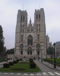 King Baudouin at rue St-Gudule