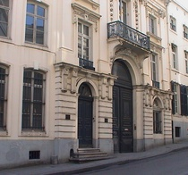 Military School at rue de Namur