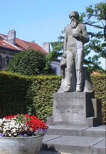 Constantin Meunier statue