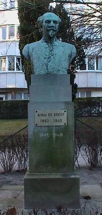 Arthur de Greef bust