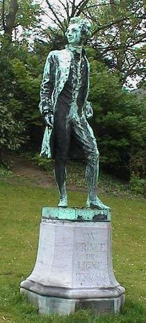 Prince de Ligne at Jardins d'Egmont