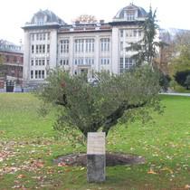 Yithzak Rabin at parc Leopold