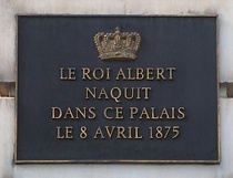 Albert I in place Royale