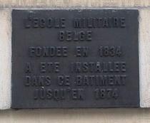 Military School at rue de Namur