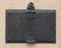 WW2 memorial for the Minimes area