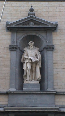 Baron Steens school statue