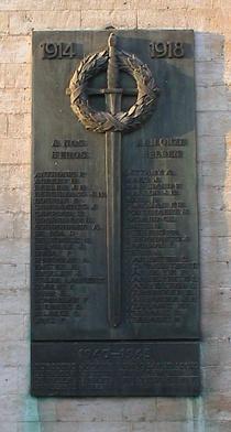 War Memorial at la Chapelle