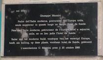 Mazzini Giuseppe at blvd Anspach