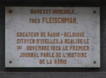 Theo Fleischman and Radio News