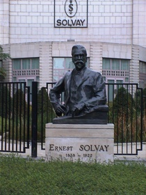Ernest Solvay at chaussee d'Ixelles