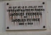 Jacques Feyder at rue de la Longue Haie