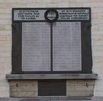 St Gilles Prison WW1 Memorial