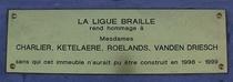 Braille League benefactors