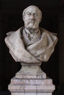 Joseph Poelaert bust