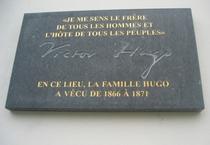 Victor Hugo at Place des Barricades