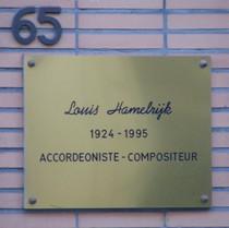 Louis Hamelrijk at rue d'Artois