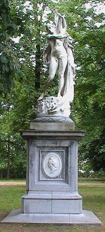 Godecharle in the Parc de Bruxelles
