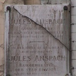 Jules Anspach at rue de l'Ecuyer