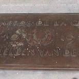 WW2 memorial at Colonne du Congrès