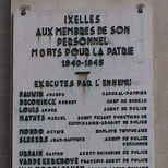 Ixelles personnel, WW2  - a