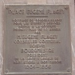 Eugene Flagey at place Eugene Flagey