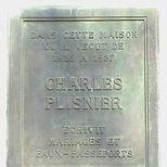 Charles Plisnier in rue d'Irlande