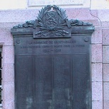 St Gilles War Memorial WW1 (A-L)