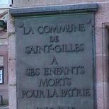 St Gilles WW2 plaque