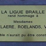 Braille League benefactors