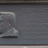 Joseph Wauters plaque
