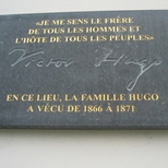 Victor Hugo at Place des Barricades